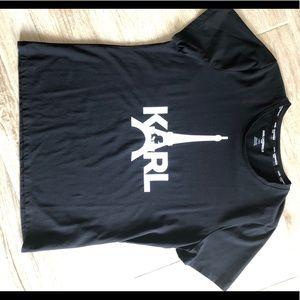 Women's Black Karl Lagerfeld T-shirt
